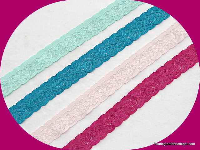 "1"" Stretchable Lace Trims"