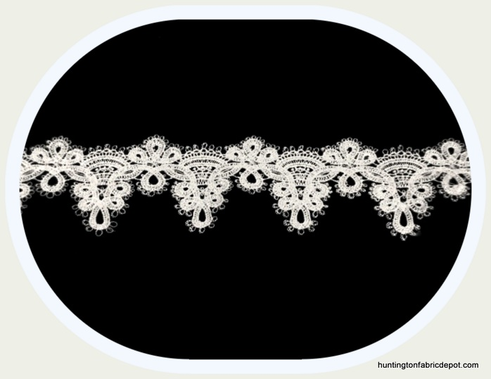 Lightweight Guipure Lace Trim for Veil/Gowns
