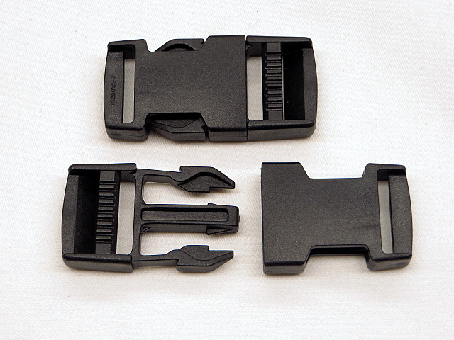 Black Side Squeeze Buckle
