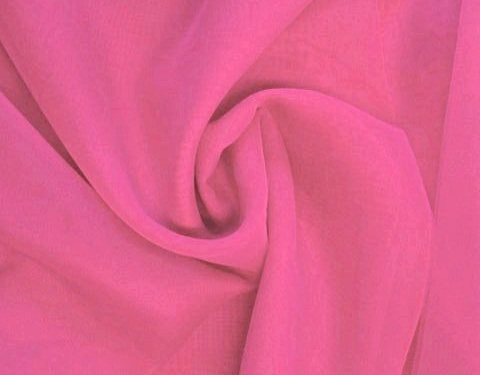 Magenta 118 inch Wide Sheer Voile/Chiffon Fabric