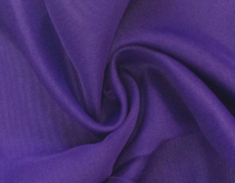 Purple 118 inch Wide Sheer Voile/Chiffon Fabric