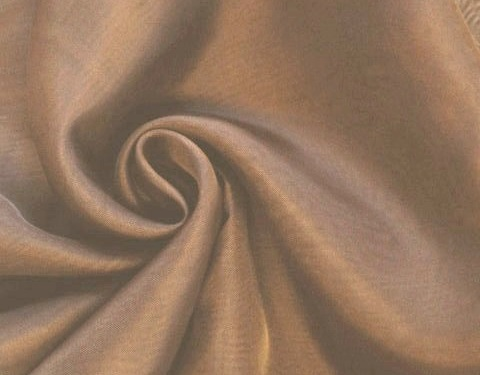 Brown 118 inch Wide Sheer Voile/Chiffon Fabric