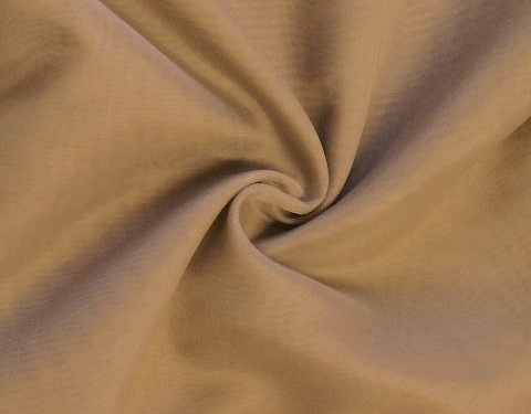 Camel 118 inch Wide Sheer Voile/Chiffon Fabric