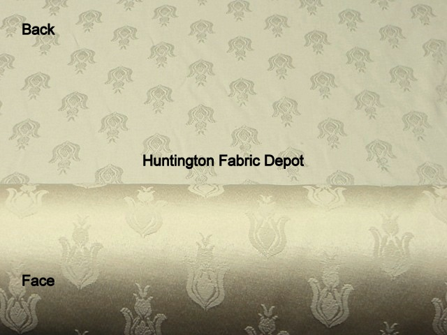 Wheat/Cream Jacquard Design/Bellflower-New Castle Collection