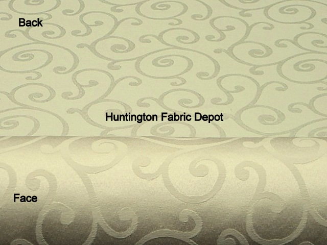 Wheat/Cream Jacquard-Design Daisy