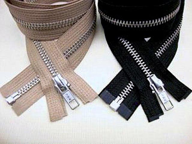 YKK Aluminum Metal Separating Jacket Zippers YKK Aluminum