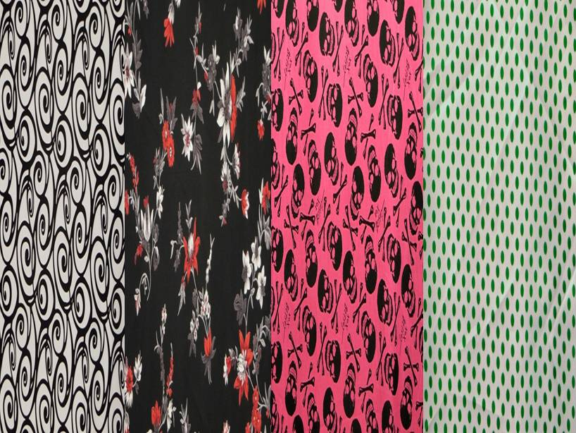 Polyester Fabric Prints