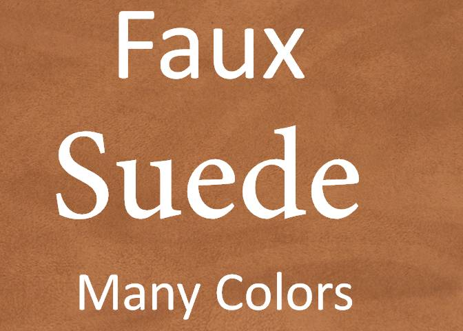 Faux Suede For Apparel/Decor/Hospitality Applications
