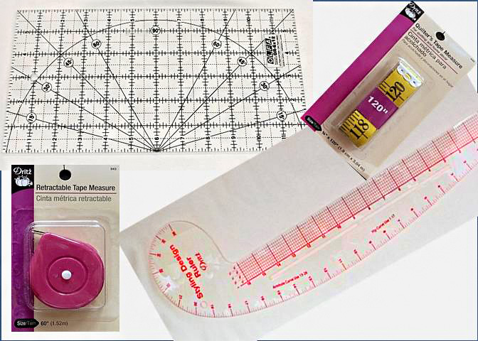 Measure Tapes & Rulers