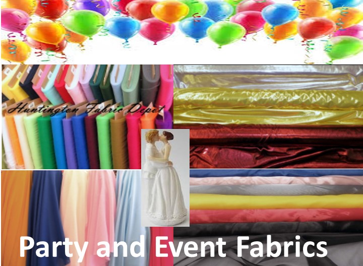 Party and Event Decoration Fabric