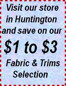 $1 to $3 Fabric & Trims