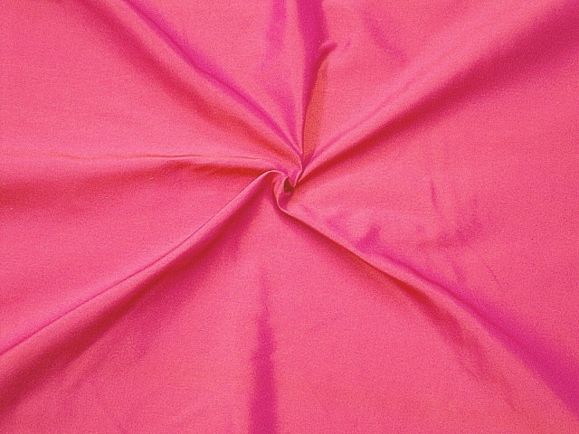 Iridescent Hot Pink Silk Taffeta