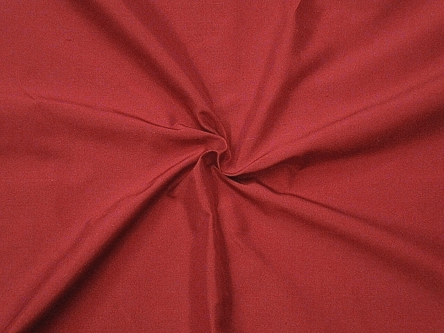 Dark Red Silk Taffeta