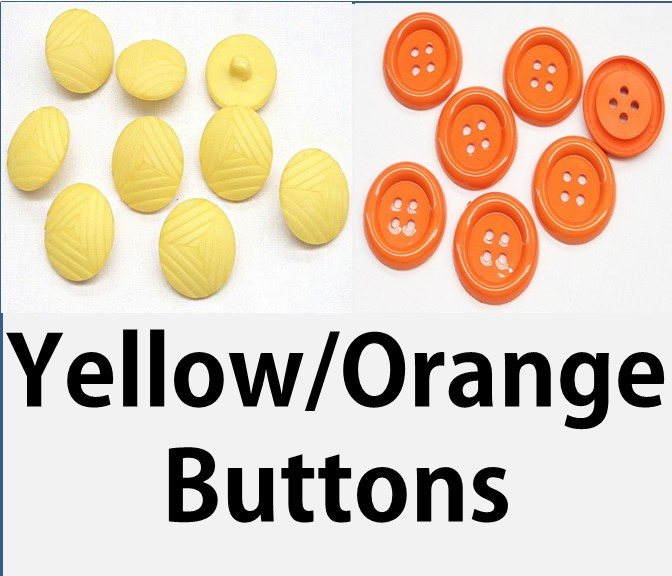 Yellow/Orange/Cream Buttons